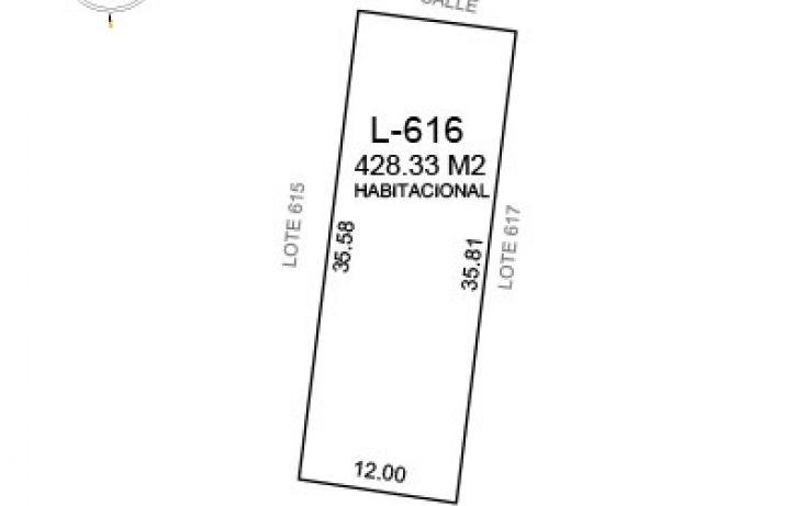 Foto de terreno habitacional en venta en, komchen, mérida, yucatán, 1526435 no 01