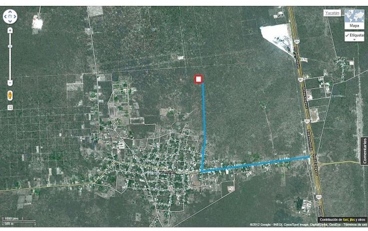 Foto de terreno habitacional en venta en  , komchen, mérida, yucatán, 1557528 No. 04