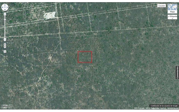 Foto de terreno habitacional en venta en  , komchen, mérida, yucatán, 1557528 No. 05