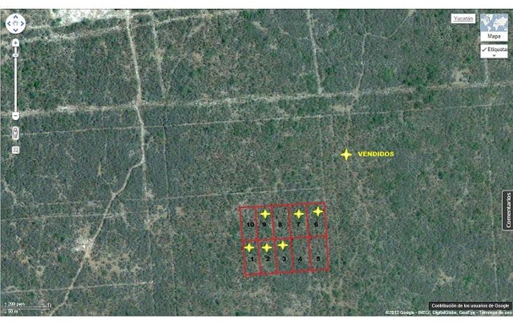Foto de terreno habitacional en venta en  , komchen, mérida, yucatán, 1557528 No. 06
