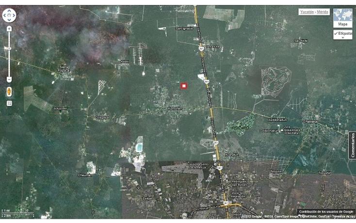 Foto de terreno habitacional en venta en  , komchen, mérida, yucatán, 1557528 No. 07