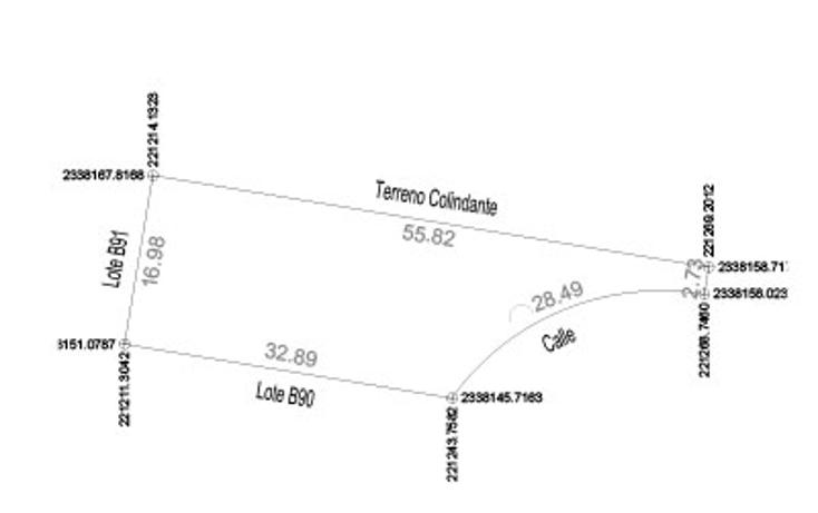Foto de terreno habitacional en venta en  , komchen, mérida, yucatán, 1572856 No. 01