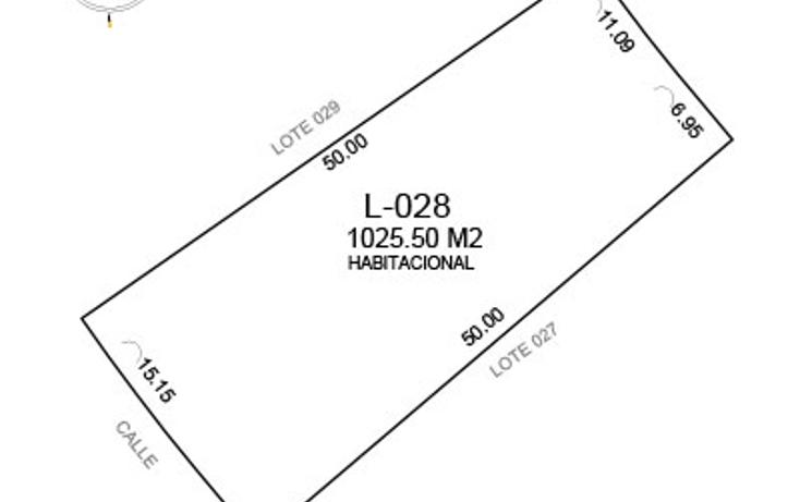 Foto de terreno habitacional en venta en  , komchen, m?rida, yucat?n, 1603656 No. 08