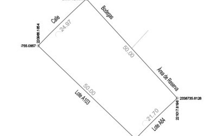 Foto de terreno habitacional en venta en  , komchen, m?rida, yucat?n, 1604348 No. 01