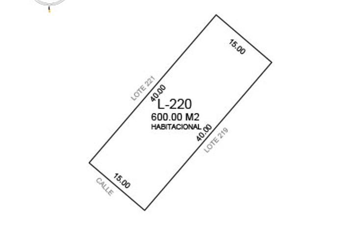 Foto de terreno habitacional en venta en  , komchen, mérida, yucatán, 1610702 No. 05