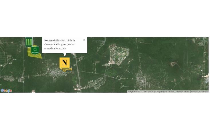 Foto de terreno habitacional en venta en  , komchen, mérida, yucatán, 1610702 No. 06