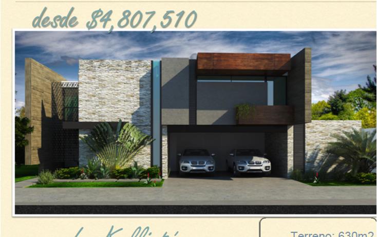 Foto de casa en venta en  , komchen, mérida, yucatán, 1640564 No. 01
