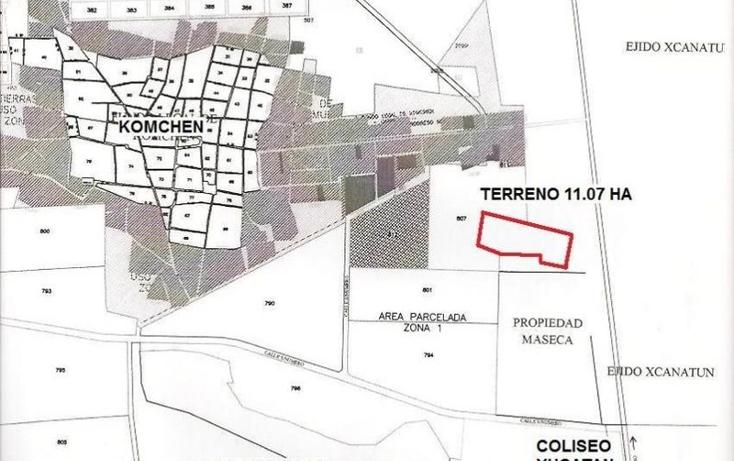 Foto de terreno habitacional en venta en  , komchen, mérida, yucatán, 1694492 No. 02
