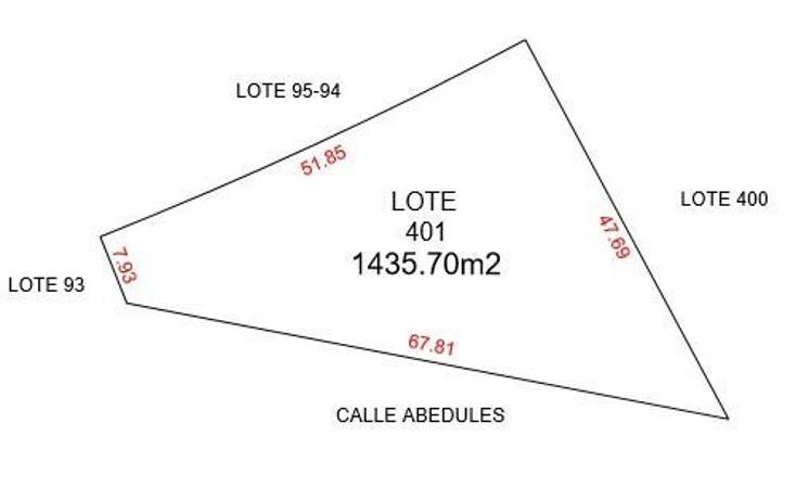 Foto de terreno habitacional en venta en  , komchen, m?rida, yucat?n, 1695110 No. 03