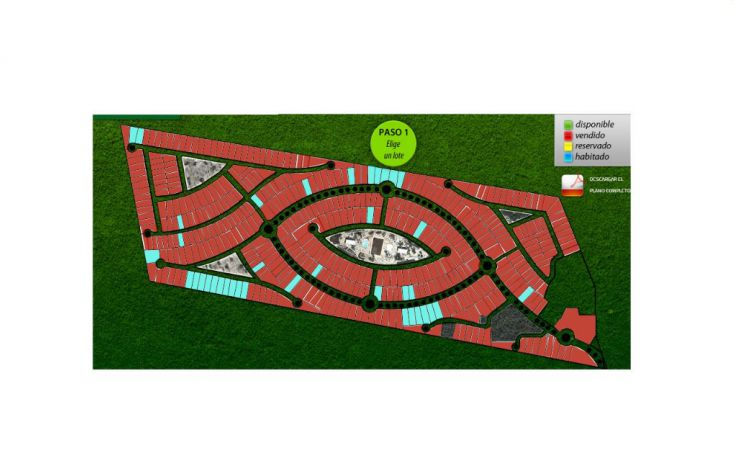 Foto de terreno habitacional en venta en, komchen, mérida, yucatán, 1696358 no 01