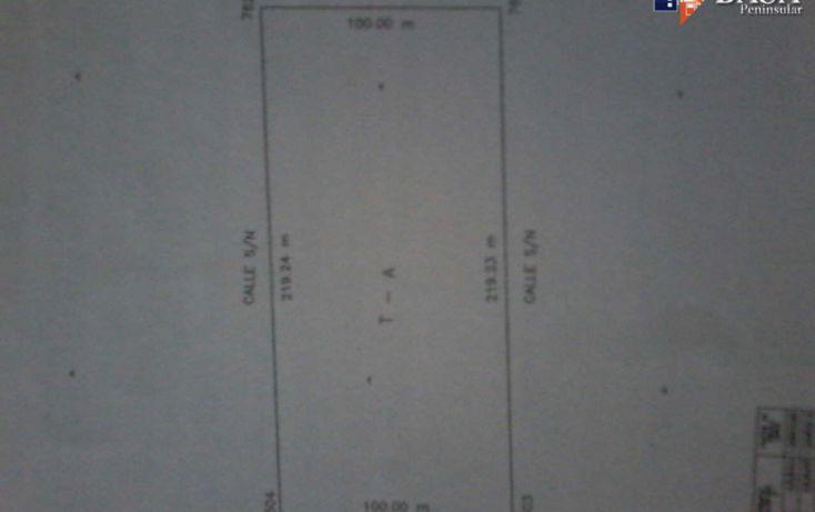 Foto de terreno habitacional en venta en, komchen, mérida, yucatán, 1769316 no 06