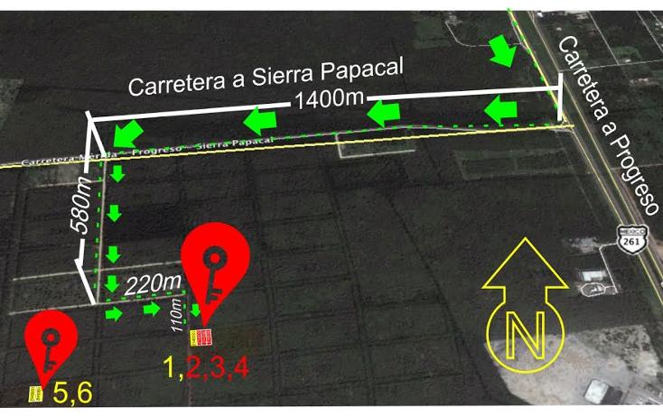 Foto de terreno habitacional en venta en  , komchen, mérida, yucatán, 1771436 No. 01