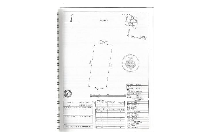 Foto de terreno habitacional en venta en  , komchen, mérida, yucatán, 1814142 No. 01