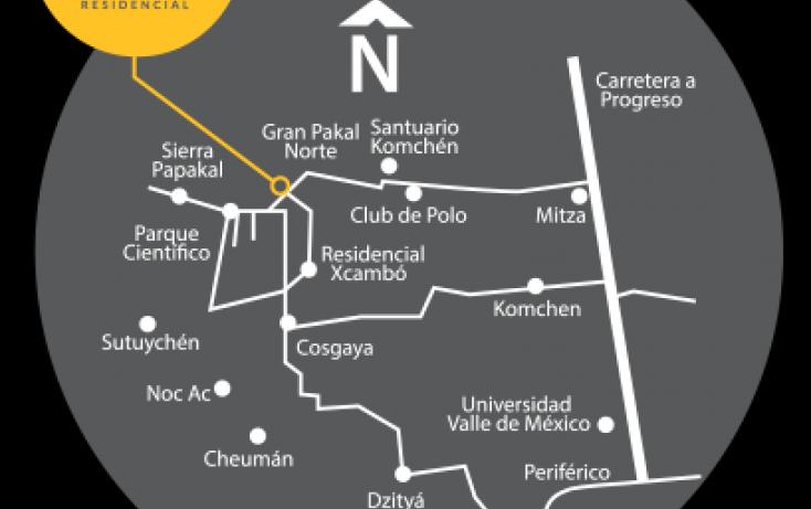 Foto de terreno habitacional en venta en, komchen, mérida, yucatán, 1814940 no 02