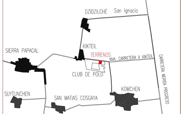 Foto de terreno habitacional en venta en  , komchen, mérida, yucatán, 1819792 No. 05