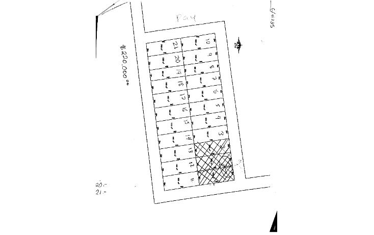 Foto de terreno habitacional en venta en  , komchen, mérida, yucatán, 1869974 No. 05