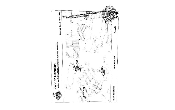 Foto de terreno habitacional en venta en  , komchen, mérida, yucatán, 1869974 No. 06