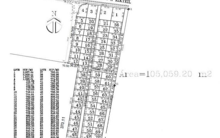 Foto de terreno habitacional en venta en, komchen, mérida, yucatán, 2036150 no 01