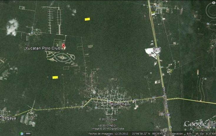 Foto de terreno habitacional en venta en, komchen, mérida, yucatán, 2036150 no 03