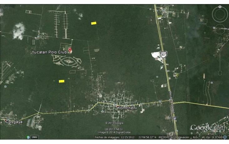 Foto de terreno habitacional en venta en  , komchen, m?rida, yucat?n, 2036150 No. 03