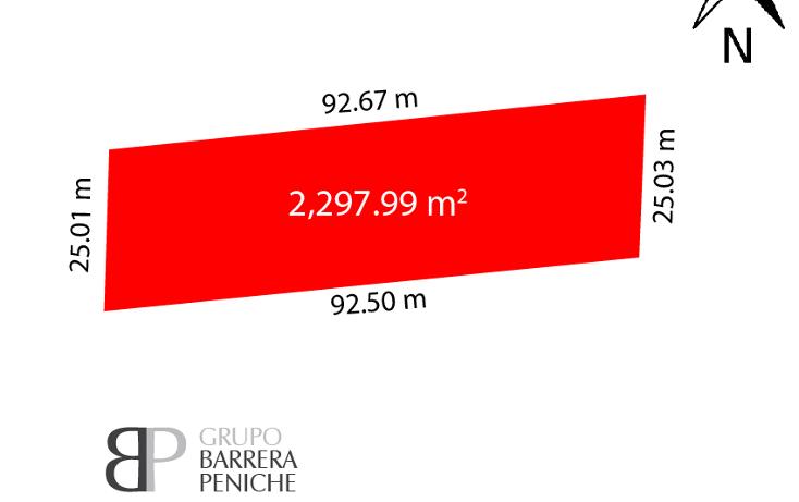 Foto de terreno habitacional en venta en  , komchen, mérida, yucatán, 2622353 No. 03