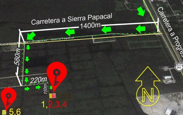 Foto de terreno habitacional en venta en  , komchen, mérida, yucatán, 2636732 No. 01