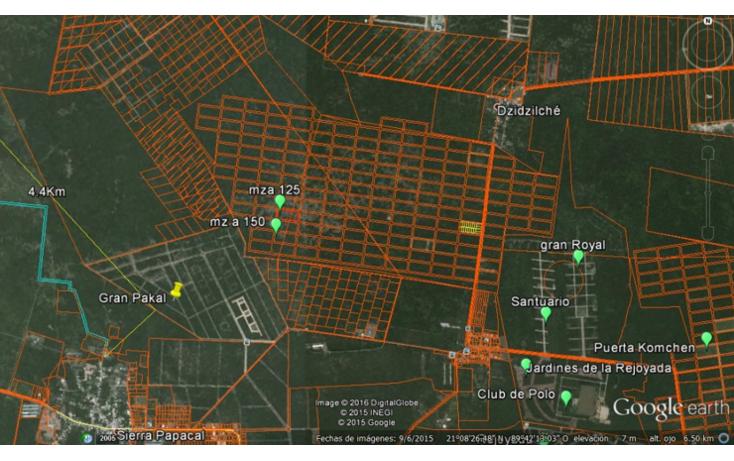 Foto de terreno habitacional en venta en  , komchen, mérida, yucatán, 940441 No. 02