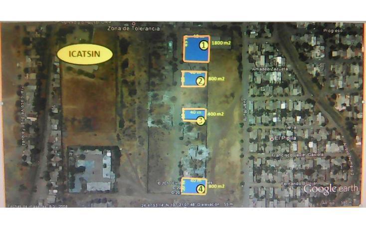 Foto de terreno habitacional en venta en  , la amistad, culiacán, sinaloa, 1929015 No. 01