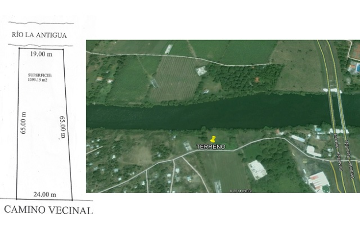 Foto de terreno comercial en venta en  , la antigua veracruz, la antigua, veracruz de ignacio de la llave, 1300921 No. 01