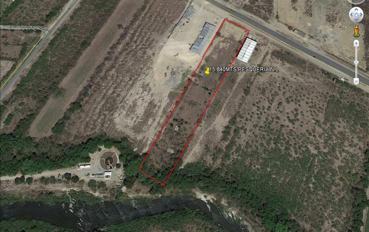 Foto de terreno comercial en venta en  , la arena, pesquería, nuevo león, 1748140 No. 02
