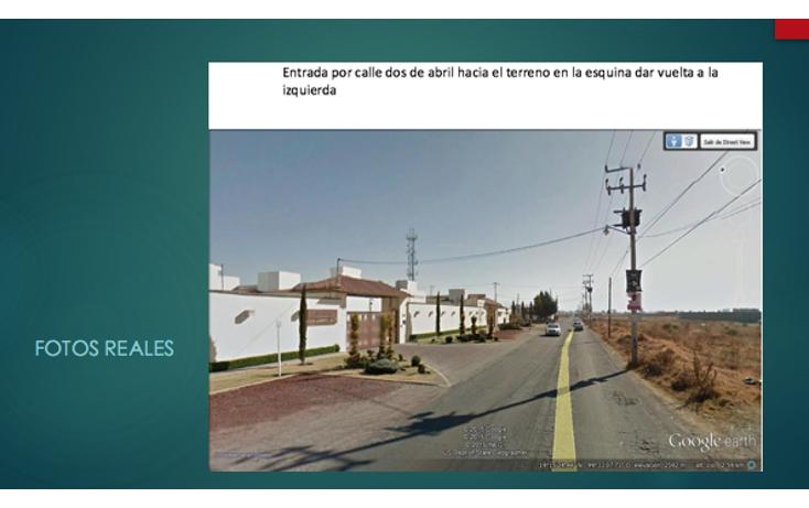 Foto de terreno comercial en venta en  , la asunción, metepec, méxico, 1971892 No. 08