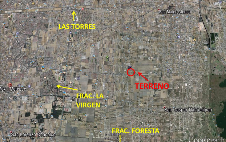 Foto de terreno habitacional en venta en  , la asunción, metepec, méxico, 1971892 No. 13