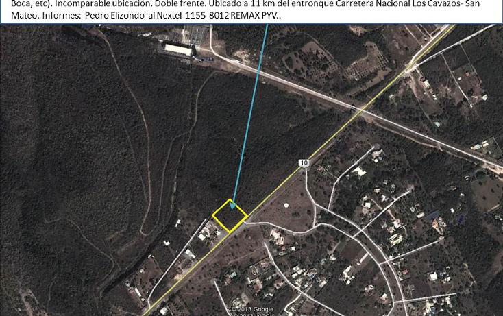 Foto de terreno comercial en venta en  , la boca, santiago, nuevo león, 1664962 No. 02