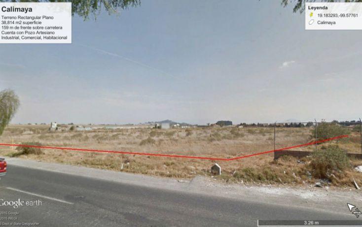 Foto de terreno comercial en venta en, la concepción coatipac la conchita, calimaya, estado de méxico, 1237441 no 01
