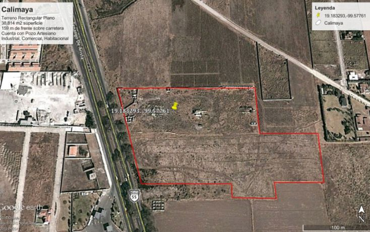 Foto de terreno comercial en venta en, la concepción coatipac la conchita, calimaya, estado de méxico, 1237441 no 09