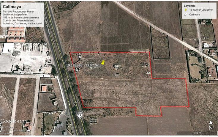 Foto de terreno comercial en venta en  , la concepci?n coatipac (la conchita), calimaya, m?xico, 1237441 No. 09