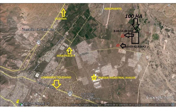 Foto de terreno habitacional en venta en  , la concordia, chihuahua, chihuahua, 1639662 No. 01