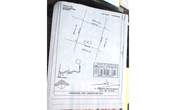 Foto de terreno habitacional en venta en  , la concordia, chihuahua, chihuahua, 2019840 No. 01