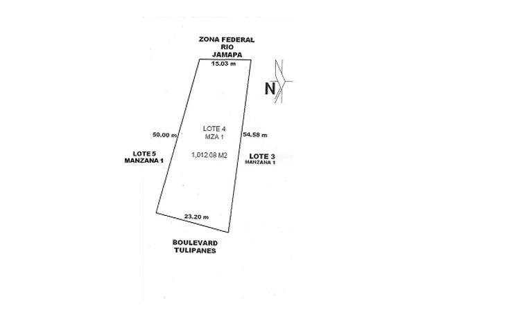 Foto de terreno habitacional en venta en  , la condesa, boca del río, veracruz de ignacio de la llave, 1254007 No. 01