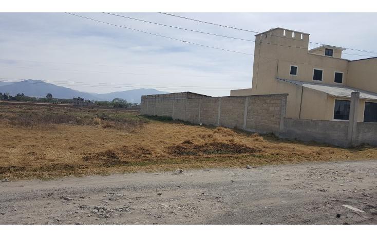 Foto de terreno habitacional en venta en  , la constitución totoltepec, toluca, méxico, 1955763 No. 01