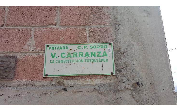 Foto de terreno habitacional en venta en  , la constitución totoltepec, toluca, méxico, 1955763 No. 11