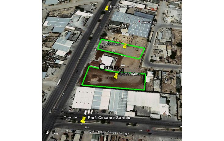 Foto de terreno habitacional en venta en  , la cuesta 1, juárez, chihuahua, 1180533 No. 01