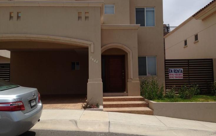Foto de casa en renta en  , la escondida, chihuahua, chihuahua, 2028412 No. 01