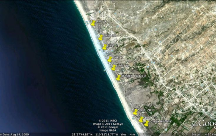 Foto de terreno habitacional en venta en, la esperanza, la paz, baja california sur, 1771478 no 04