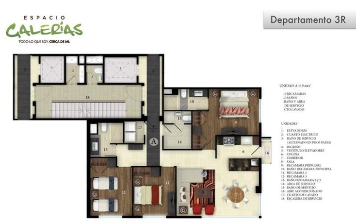 Foto de departamento en venta en  , la estancia, zapopan, jalisco, 1535793 No. 03