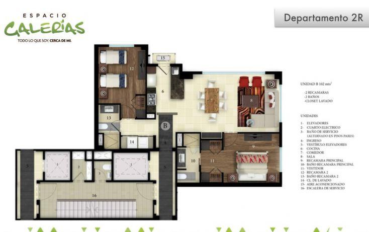 Foto de departamento en venta en, la estancia, zapopan, jalisco, 1535797 no 16