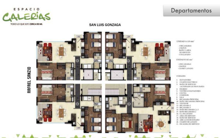 Foto de departamento en venta en, la estancia, zapopan, jalisco, 1535807 no 10