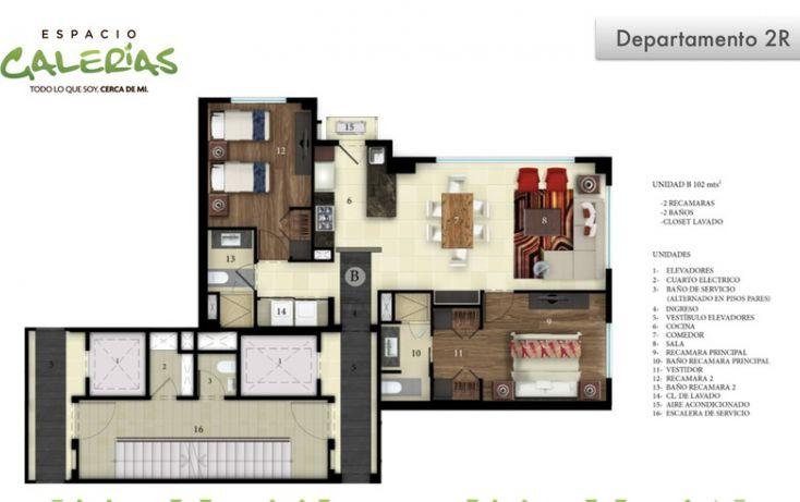 Foto de departamento en venta en, la estancia, zapopan, jalisco, 1535807 no 20