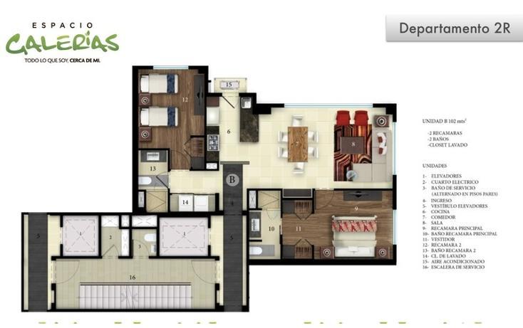 Foto de departamento en venta en, la estancia, zapopan, jalisco, 1535807 no 21