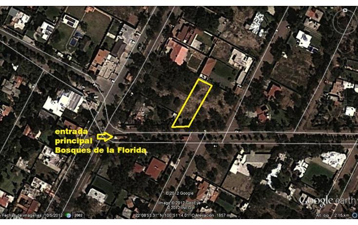 Foto de terreno habitacional en venta en  , la florida, san luis potosí, san luis potosí, 1098721 No. 01